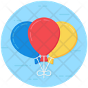 Balloon Decoration Party Decoration Icon