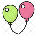 Ballons Air Children Icon