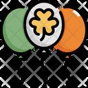 Balloon Clover Shamrock Icon