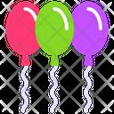 Balloons Decorative Balloons Christmas Balloons Icon