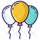 Party Decoration Balloons Party Balloons Icon