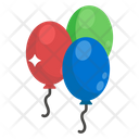 Balloons Party Decorations Party Balloons Icon