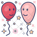 Balloons Party Balloons Happy Balloons Icon