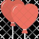 Heart Balloon Valentines Icon