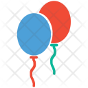 Balloons Celebrations Decorations Icon