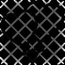 Heart Kites Tie Icon