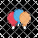 Balloons Party Christmas Icon