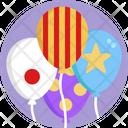 Balloon Decoration Entertainment Icon
