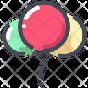Balloons Icon