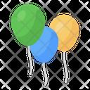 Balloons Party Balloons Helium Balloons Icon