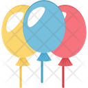 Balloon Party Decorations Party Balloon Icon