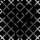 Circus Carnival Outline Design Icon Set Icon