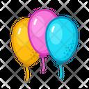 Ballons Party Fun Icon