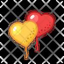 Hearts Party Fun Icon