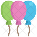Balloons Celebration Holidays Icon