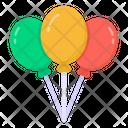 Balloons Helium Balloons Party Balloons Icon