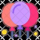 Balloons Party Birthday Icon