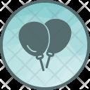 Balloons Sky Decoration Icon