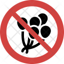 Balloons not allowed Icon