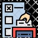 Ballot Vote Election Icon