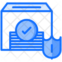 Ballot Box Shield Icon