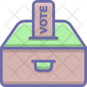 Vote Casting Polling Icon