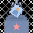 Ballot Box Vote Election Icon