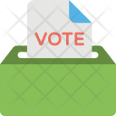 Ballot Box Voting Icon