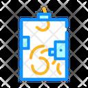 Ballot Box Color Icon