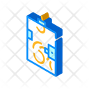 Ballot Box Isometric Icon