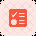 Ballot Paper Icon