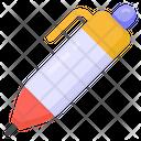 Ballpoint Pen Writing Tool Icon