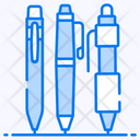 Ballpoints Markers Writing Tools Icon