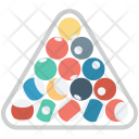 Balls Racked Billiard Icon