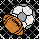 American Ball Balls Icon
