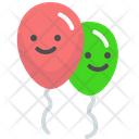 Baloons Celebration Party Icon