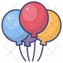 Baloon Holiday Party Icon
