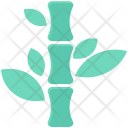 Bamboo Plants Stems Icon