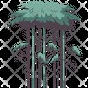 Bamboo Tree Wood Icon