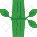 Bamboo Leaf Stick Icon