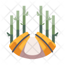 Bamboo Forest Tree Icon