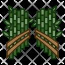 Bamboo Groves Landmark Icon