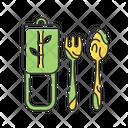 Cutlery Kitchenware Tableware Icon