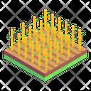 Cultivation Land Farming Plantation Icon