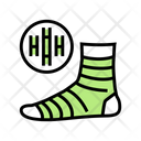 Bamboo Material Sock Icon