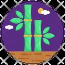 Bamboo Sticks Icon