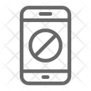 Ban Stop Mobile Icon