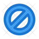 Prohibited Cancel Block Icon