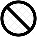 Ban Block Disable Icon