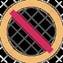 Ban Cancel Caution Icon